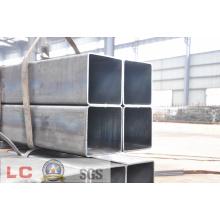 Tube en acier carré noir de 200 mm x 200 mm