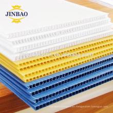 JINBAO 4x8 48x96 3 mm hoja de plástico hueco burbuja corrugado hoja
