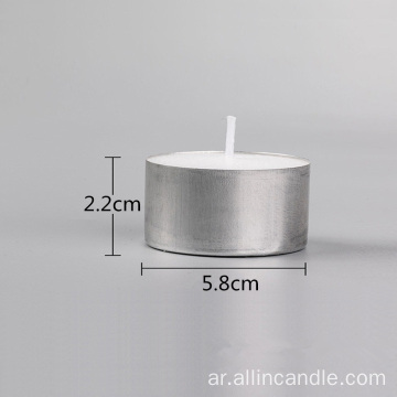 9hrs Burning New Style Natural Tealights Candle