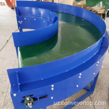 Arzon narxlardagi 180 Degree Curve Belt Conveyor