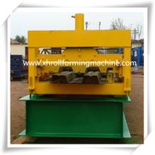 Galvanizado de chapa de acero piso cubierta máquina formadora de rollos