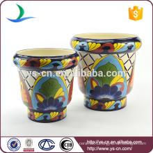 YSfp0001 Unique flower pot hand print designs for Europe market