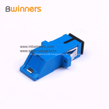 SC/APC SC/PC Simplex Optical Adapter With Flange
