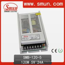 CE de suministro de energía de conmutación de salida única Ultra-Thin 120W / SMPS (SMB-120W) CE RoHS