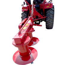 Tractor mounted drum mower