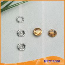 Зажимная кнопка / захват для вышивания с дизайном / логотипом MPC1035