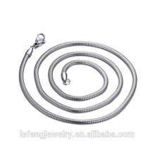Chaîne différente d'or de type, chaîne argentée, collier libre de chaîne d'acier inoxydable de Nickle