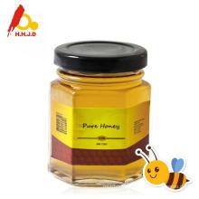 Pure Chaste Honey in Bee Honey Bottle