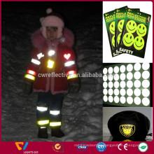 high light 3m diamond grade yellow reflective sticker tape for making stickers