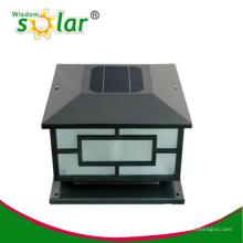 Iluminación solar posterior tapa iluminación al aire libre del decking
