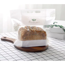 Hot Sale toast bread paper bag customized kraft paper bag bread toast bag