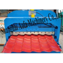 Colored Roof Tile Roll Forming Machine (AF-G1025)