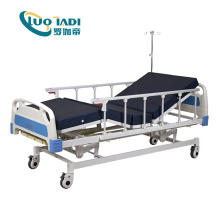 Lit d'hôpital électrique automatique à 3 fonctions