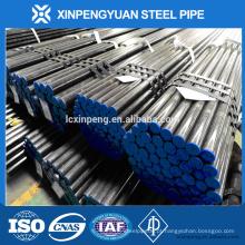 Óleo de aço carbono e tubo de gás API 5L tubo de aço sem costura para uso de petróleo