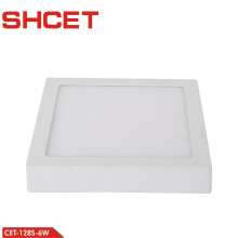 Led Celling Square Recessed 6W led panel light 6500K Color Temperature For Indoor Lamp