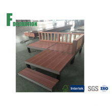 Japanese Design WPC Wood Flooring Terrace