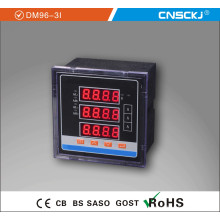 Dm96-3I Digital Amperímetro trifásico de CA
