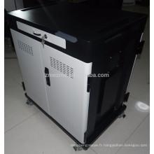 Cabinet pour le chariot de chargement de Chromebook / sécurité