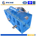double reduction gearbox for fiber extruder