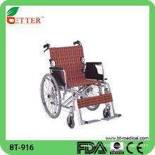 Double crossbar custom foldable wheelchair