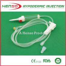 Conjunto de infusão descartável IV Henso com Y-Site