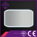 Jnh183 Rectángulo rectangular que ilumina el espejo de plata del cuarto de baño del LED para el hotel