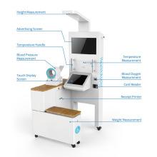 Health Screening Kiosk with Blood Pressure Measurement