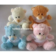 Plush Toy T-Shirt Stuffed Teddy Bear Plush Toy