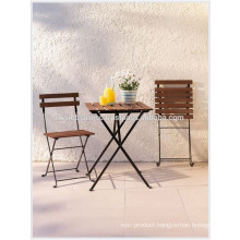 Decorating Cafeterias with Bistro Set: 1 Table, 2 Chairs