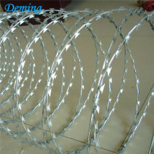 Factory Low Price Galvaniserad Concertina Razor Barbed Wire