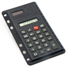 Mini Super Thin Loose-leaf Notebook Calculator with Ruler
