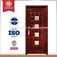 Diamond designed bedroom wood door design window; wood room door/gate                                                                         Quality Choice