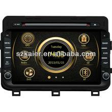 Сенсорный экран автомобиля DVD GPS для Kia К5 2014/Оптима с GPS/Bluetooth/Рейдио/swc/фактически 6 КД/3G интернет/квадроциклов/ставку/720р РМ/720р Формат RMVB