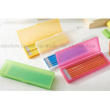 OEM Logo Advertising Plastic Pencil Case for Promotion