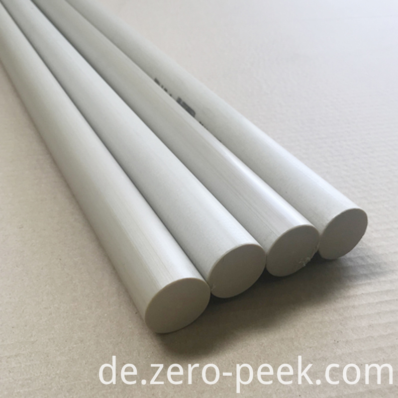 Natural PEEK round rod