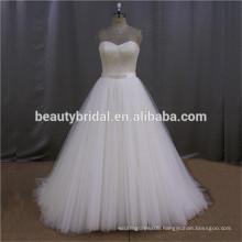 SL139-1 handmade pleated fish tail beading wedding dress 2016 elegant backless weding dress 2016