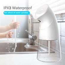 Dispensador de sabonete automático sem toque desinfetante para mãos com suporte