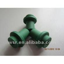 grüne Gummitüllen