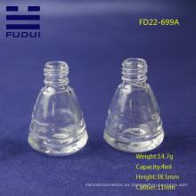 Venta al por mayor de la botella de cristal del pulimento de clavo vacío nuevo del estilo