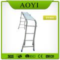 Aluminum folding little giant ladder