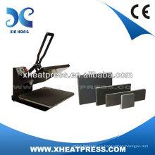 CE Aprobado Clamshell camiseta personalizada logotipo de colorante de transferencia de calor máquina de transferencia de prensa de prensa
