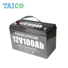 2021 Hot Sale LiFePO4 Lithium car Battery 12v 100Ah Deep Cycle Engine starting li-ion battery to replace SLA battery
