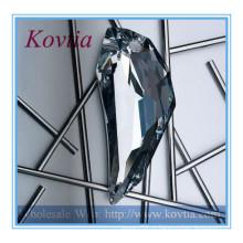 Мода ювелирные изделия австрийский кристалл полумесяц формы луны кулон ожерелье
