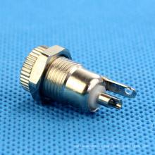 mini enchufe eléctrico, conector de CC de 2 pines