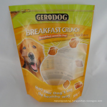 Zipper Top Stand up Dog Food Pouch/Pet Food Pouch