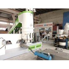 Ml75 PLC Control PP, PE Film Pelletizing Line Plastic Recycling Machinery