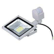 Nuevo reflector de Ce RoHS 30W LED SMD LED con el sensor de movimiento PIR