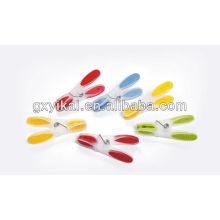 Весенние пластиковые вешалки для одежды, пластиковая вешалка для вешалки для одежды