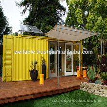 Long Lifespan Convenient Prefabricated/Prefab Modified Container Coffee House/Bar From China