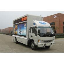 JAC 4 * 2 мобильный светодиодный рекламный грузовик